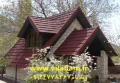 طراحی و اجرای سقفهای شیبدار و ویلایی، اجرای آلاچیق