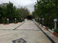 2550 متر باغ ویلا در منطقه خوش اب و هوا و ویلایی نشین شهریار