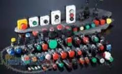 چراغ سیگنال 110 ولت و 220 ولت AC/DC  طرح تله - شاسی استوپ و استارت طرح تله