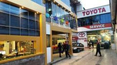 فروش کشویی سپر خودرو های تویوتا ولکسوس در نمایندگی تویوتا اورنگ