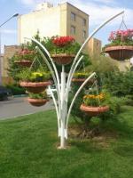 گلدان شهری فایبرگلاس زرین کار