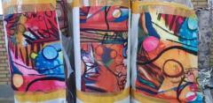 فروش کاغذ چاپ ترانسفر در طرح ها و رنگ های متنوع