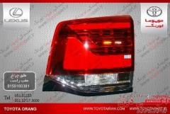 فروش طلق چراغ عقب راست وسایرقطعات اصلی نوواستوک خودروهای  تویوتا/لکسوس