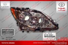 فروش چراغ جلوراست باAfs وسایرقطعات اصلی نوواستوک خودروهای تویوتا/لکسوس