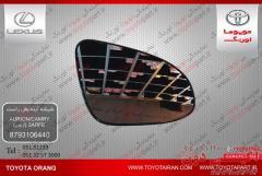 فروش شیشه آینه بغل راست وسایرقطعات اصلی نو و استوک خودروهای تویوتا/لکسوس