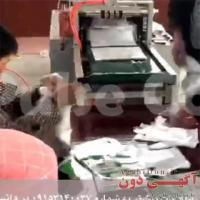 فروش دستگاه های خط تولید دستکش های نایلونی