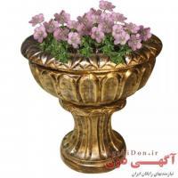 گلدانهای پایه دار و طرح جام فایبر گلاس