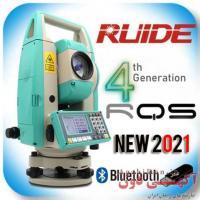 دوربین نقشه برداری توتال استیشن روید Ruide مدل RQS تکنولوژی نیکون ژاپن