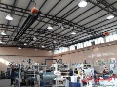 سیستم گرمایش تابشی صنعتی گرماتاب
