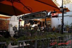 گرماتاب تابشی رستوران