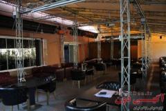 بخاری تابشی سقفی رستوران