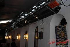 هیتر تابشی سقفی رستوران