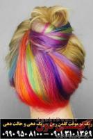 رنگ مو کاملا گیاهی و موقت پرکلاغی گلدن رین