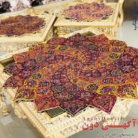 :: فروش مستقیم رومیزی های ترمه ابریشم